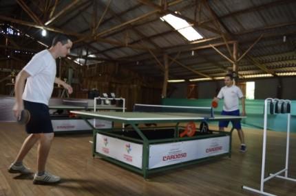 Metalúrgica Cardoso é a mãe do tênis de mesa de São Carlos - SC